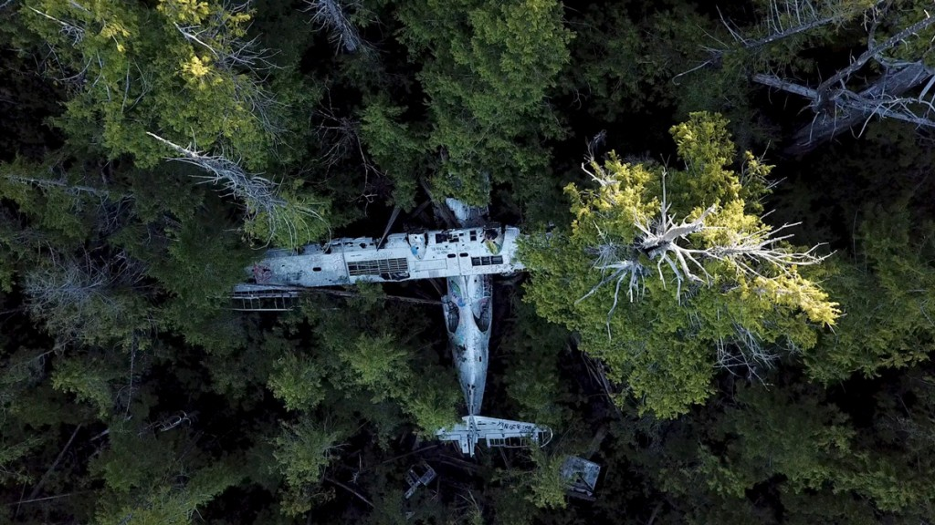 canso bomber air plane crash site tofino